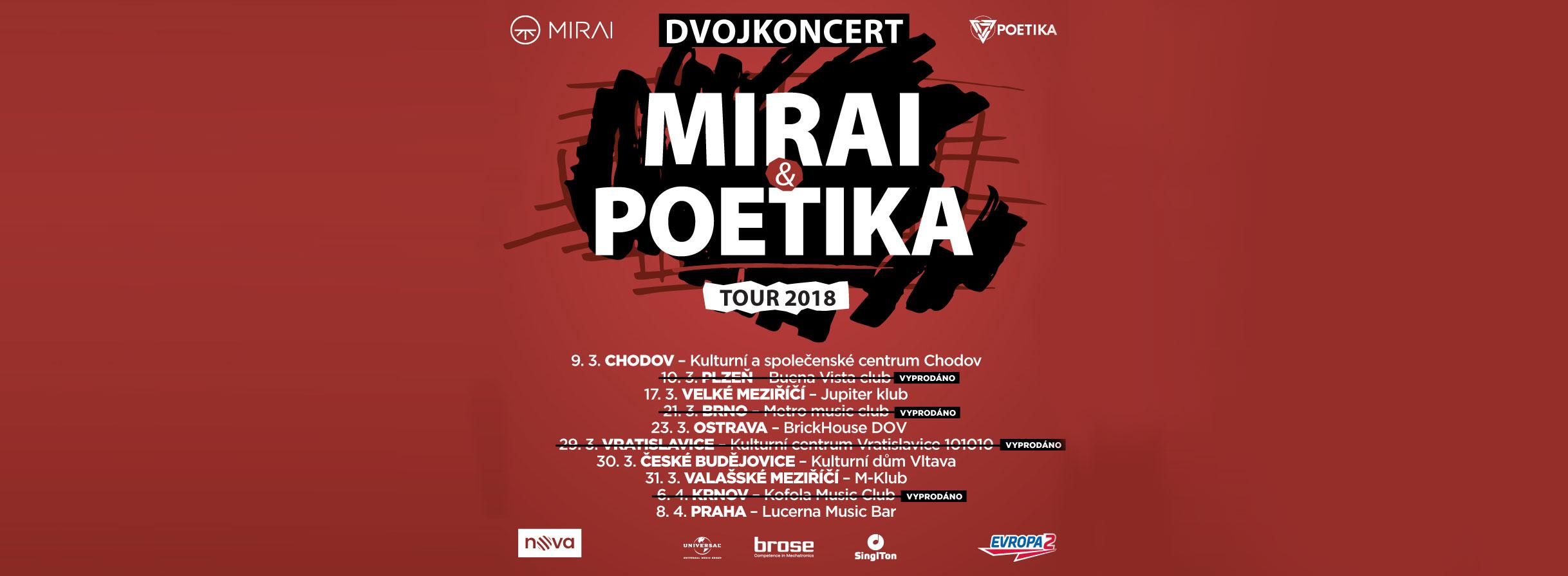 Mirai Poetika Tour 2018